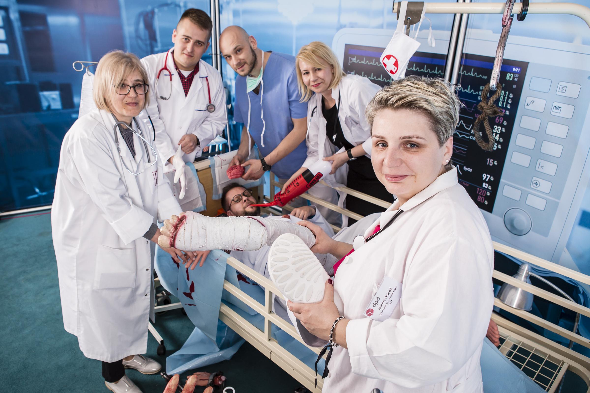 Szalony Szpital impreza integracyjna